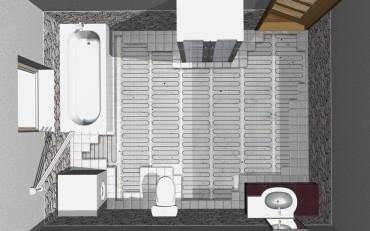 A legdrágábban épített vagy felújított fürdőszoba sem az igazi ha a padló hideg